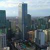 Highrise buidlings Miami Brickell stock footage 4k