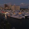 Super yachts Fort Lauderdale boat show 2017 aerial drone video
