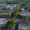Stock aerial footage Miami Art Basel Wynwood 201