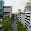SE 3rd Avenue Downtown Fort Lauderdale Florida aerial drone footage