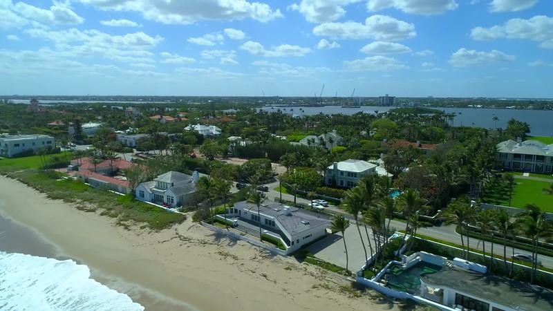 West Palm Beach FL aerial tour 4k