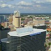 Aerial drone footage Fifth Third Bank Tampa 4k 60p