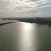 Aerial video Brickell Bay Miami FL