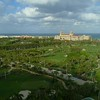 Aerial establishing shot Breakers Palm Beach Florida