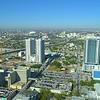 Scenic Miami cityscape shot with a drone 4k