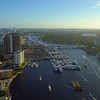 Fort Lauderdale boat show scene 4k