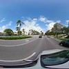 360vr motion footage driving Bal Harnpour Florida plates