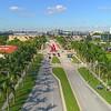 Aerial Florida International University Alexander Liberman Argosy 1980 4k 24p