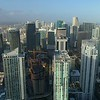 Brickell Flatiron under construction Miami Florida aerial drone video