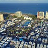Drone fort Lauderdale Boat Show swim hall of fame venue