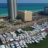 Miami Beach boat show and iconic historical hotels