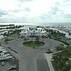 Miami City Hall historic building aerial drone footage 4k 60p