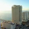 Highrise developments Sunny Isles Beach Florida USA 4k