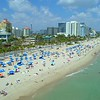 Aerial footage Fort Lauderdale Florida Spring Vacation tourists college students