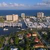 Drone shot Fort Lauderdale Boat Show 4k