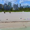 Aerial video few tourists remain after Hurricane Irma evacuation order