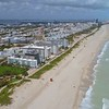 Aerial video Miami Beach after Hurricane Irma 2017