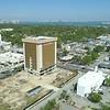 Triton Center immigration building demolition development aerial drone video