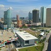 Aerial 4k drone shot Tampa Downtown
