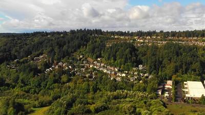 Washington USA mountside homes 4k