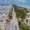 Ocean Drive Miami Beach after Hurricane Irma