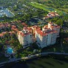 Aerial video upscale community Miami Florida