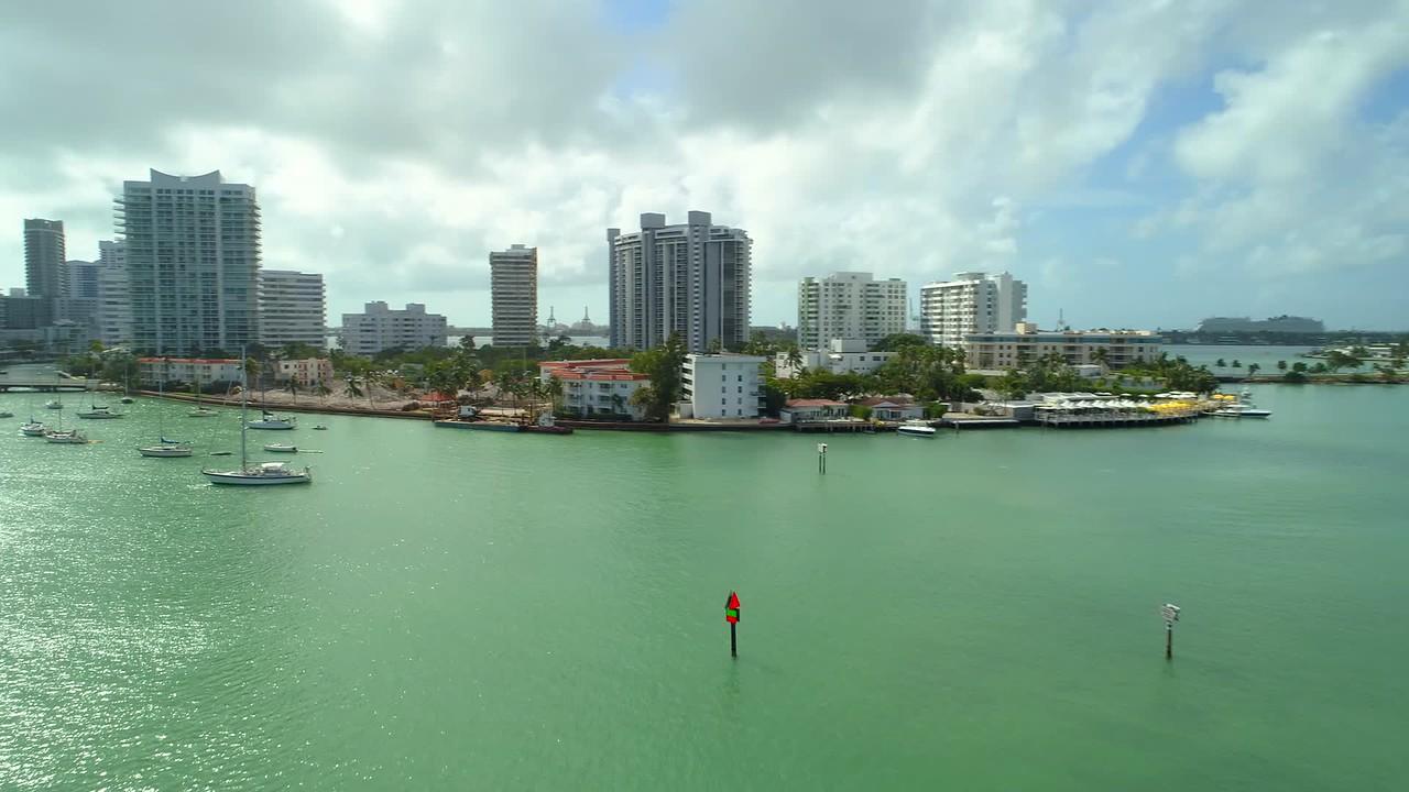 Belle Isle Miami Beach FL USA