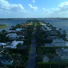 Aerial drone footage Everglades Island Palm Beach Florida 4k 60p