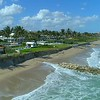 Beach erosion global warming climate change Palm Beach Florida USA