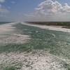 Aerial footage amazing large waves Palm Beach Florida 4k 60p