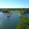 Drone aerial video Deering Estate Miami FL 4k 24p