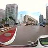 360vr spherical footage driving plates Brickell Avenue Miami Florida