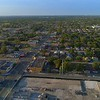 Housing Urban development Miami Florida Liberty City Square aerial footage