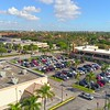 Aerial video University shopping Center Miami FL 4k 24p