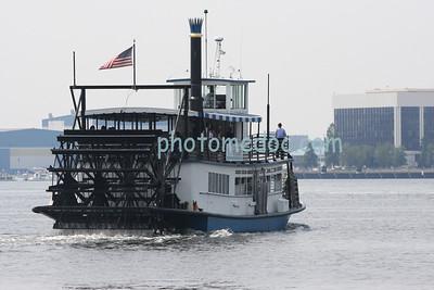 Ferry on Norfolk Waters