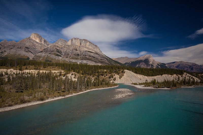 AB-2012-032: Saskatchewan River Crossing, Banff National Park, AB, Canada