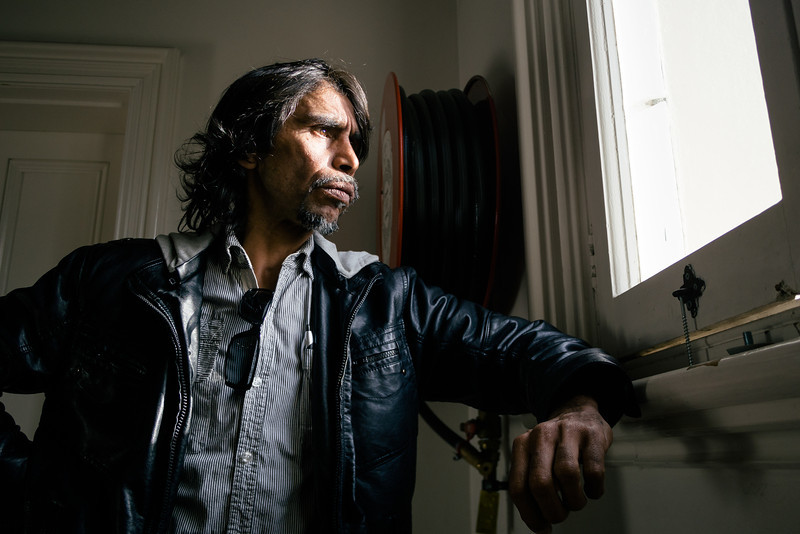 Aboriginal Man in his Late 40s