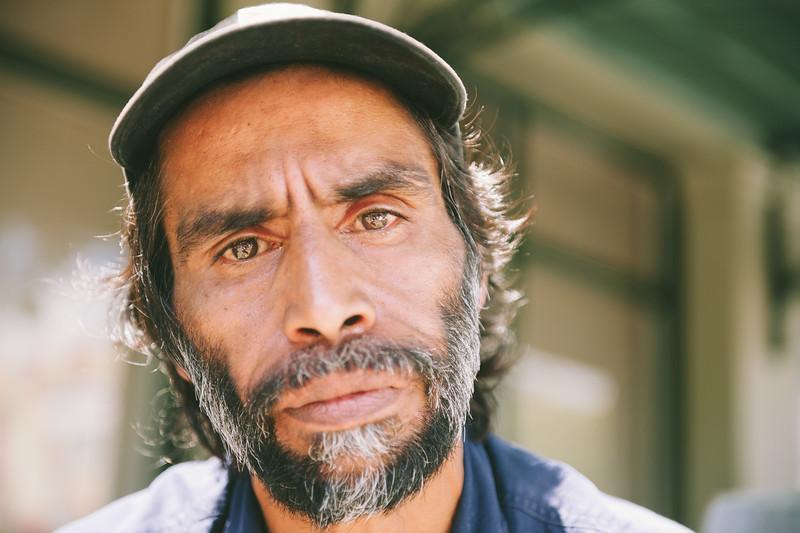 Aboriginal Man with a Cap