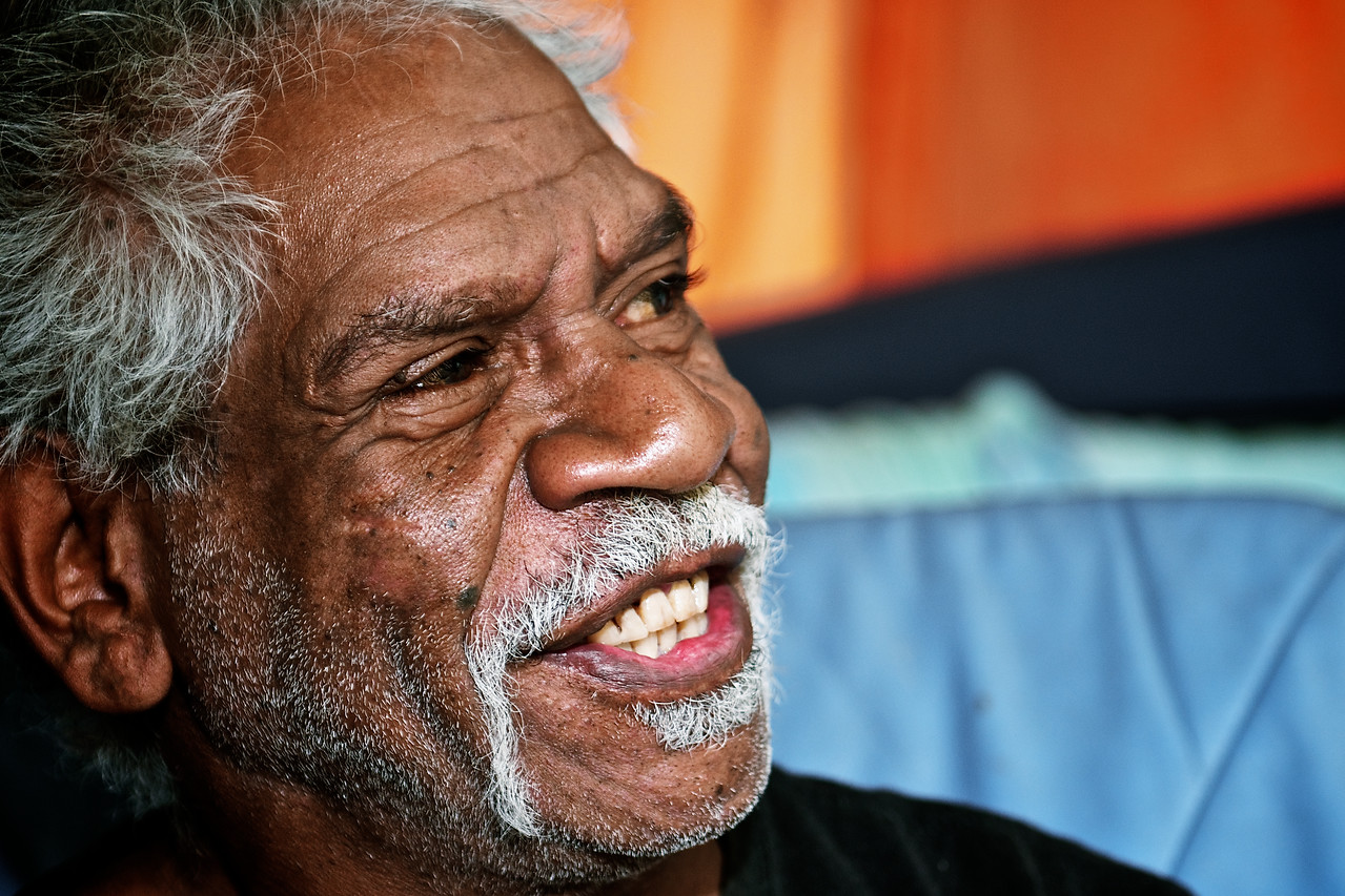 Profile of a Wurundjeri Elder