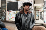 Aboriginal Man in an Urban Environment