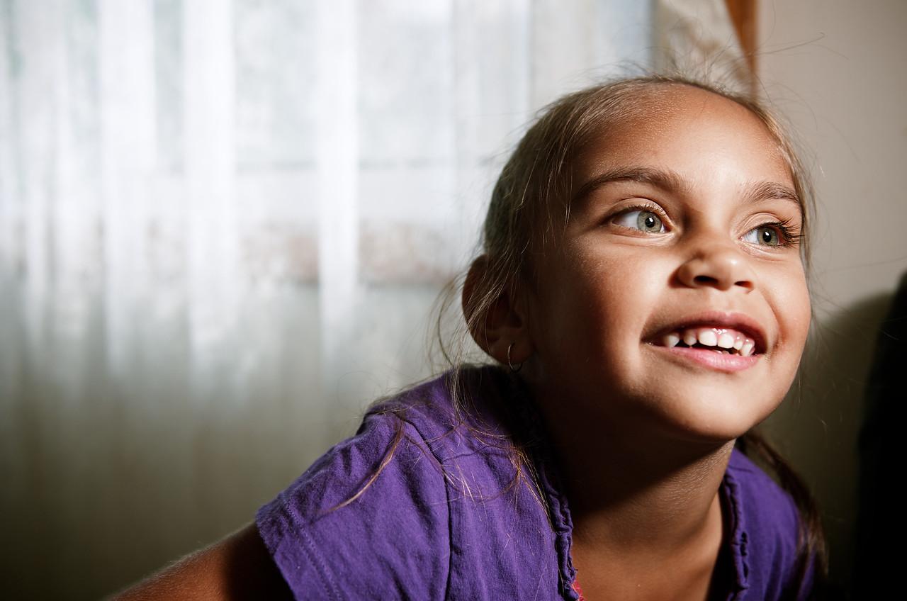 Aboriginal Australian Girl of Five Years