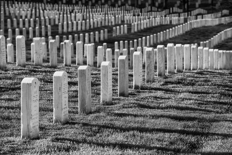 """Infinite Heroism"" - Arlington National Cemetery, Washington, D.C.