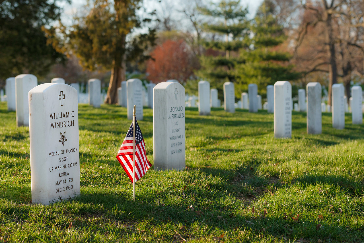 """R.I.P. M.O.H."" - Arlington National Cemetery, Washington, D.C.