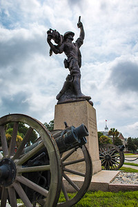 """""""Canons and Guns"""" - USMC Recruit Depot, Parris Island   Recommended Print sizes*:  4x6      8x12     12x18     16x24     20x30     24x36 *When ordering other sizes make sure to adjust the cropping at checkout*  © JP Diroll 2013"""