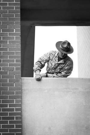 """The Watcher"" - USMC Recruit Depot, Parris Island   Recommended Print sizes*:  4x6  