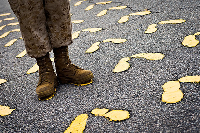 """""""Workboots"""" - USMC Recruit Depot, Parris Island   Recommended Print sizes*:  4x6  