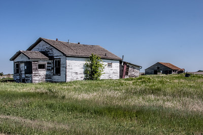 Abandoned Prairie Home