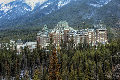 Hotel in the Canadian Rockies