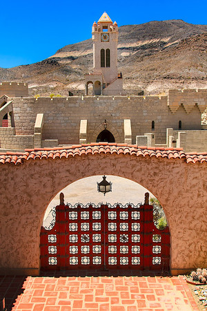 Scotty's Castle at Death Valley