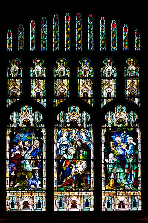 Stained Glass Windows in Church